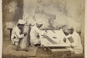 Gold Embroiderers by Shivashanker Narayen ca. 1873 © British Library. The Fabric of India, supported by Good Earth, runs from 3 October 2015 – 10 January 2016. www.vam.ac.uk/fabricofindia.