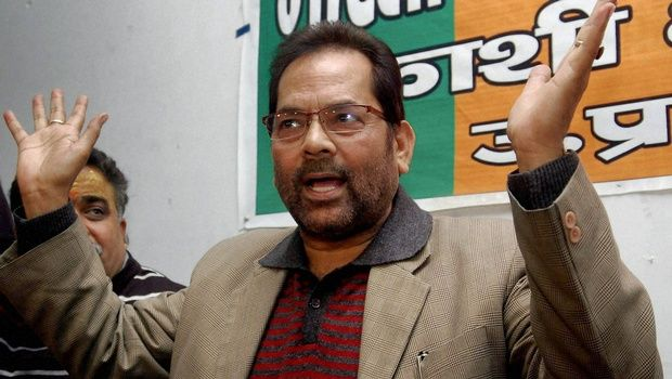 Naqvi Meets Islamic Cultural Centre Chief, Claims Minority Rights Safe in India