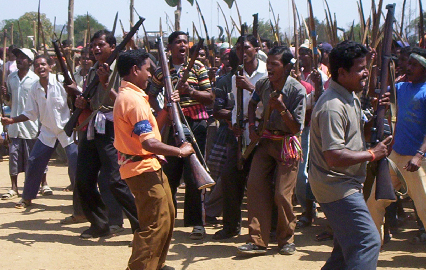The first Salwa Judum rally in Konta, Chhattisgarh. Credit: Special arrangement