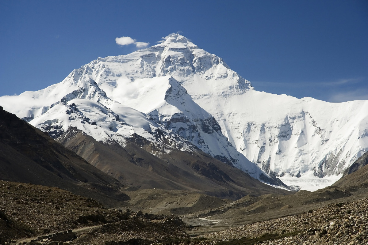 Mount Everest. Credit: WIkimedia Commons