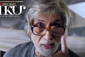 A poster for the movie 'Piku'.