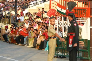 The India-Pakistan border at Wagah. Photo: Joshua Song, CC BY-NC-ND-2.0