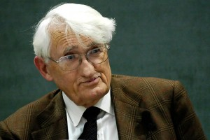 Jürgen Habermas. Photo by Wolfram Huke.