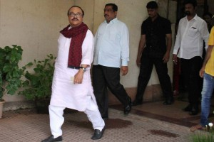 File picture of NCP leader and former Dy Chief Minister of Maharashtra, Chhagan Bhujbal who has been arrested by the Enforcement Directorate. Credit: PTI