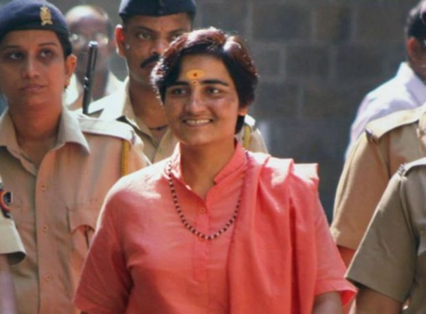 File photo of Sadhvi Pragya Singh Thakur, one of the prime accused in the 2008 Malegaon blast. (PTI)