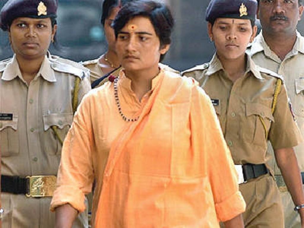 Sadhvi Pragya, one of the accused in the 2008 Malegaon blasts.