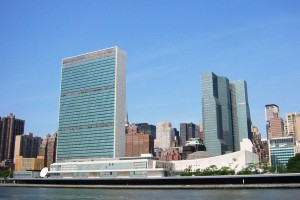 The United Nations headquarters in New York City. Credit: Wikimedia Commons