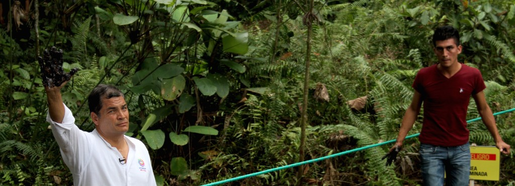 Brad Pitt, Chevron and a Small Nation's Battle for Environmental Justice