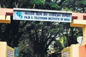The entrance to FTII. Credit: YouTube Screengrab