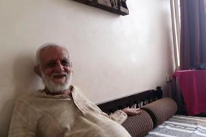 G.G. Mehta, doctor and socialist, in Mumbai on Thursday.Photo: Sidharth Bhatia