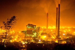 Coal-fired thermal power plants in Singrauli. Credit: International Accountability Project, CC 2.0