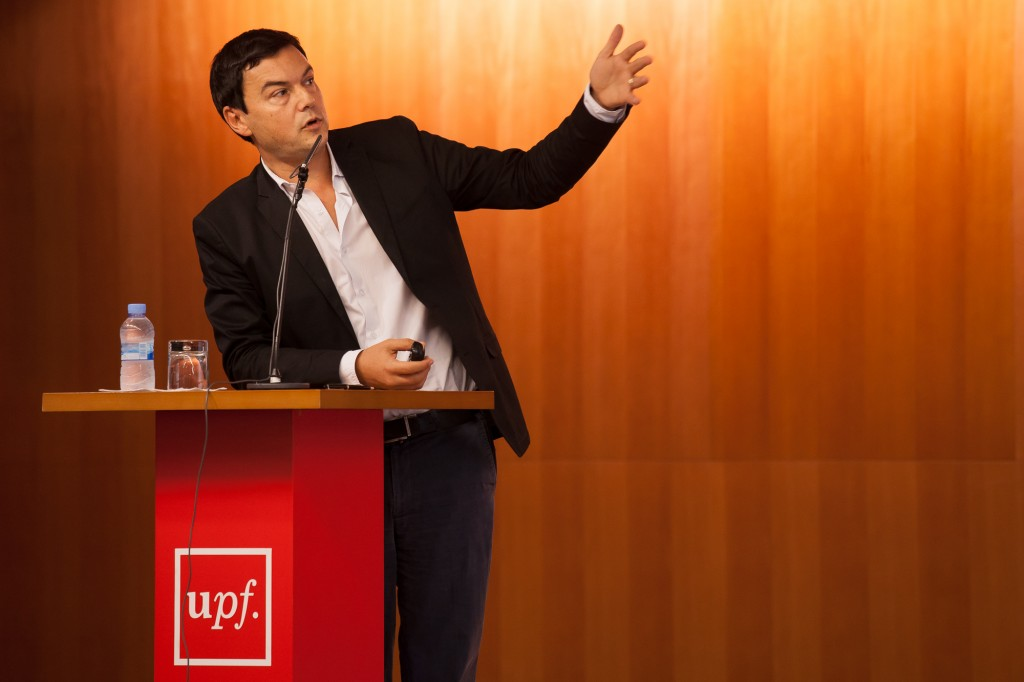 File photo of Thomas Piketty. Credit: Universitat Pompeu Fabra, CC 2.0