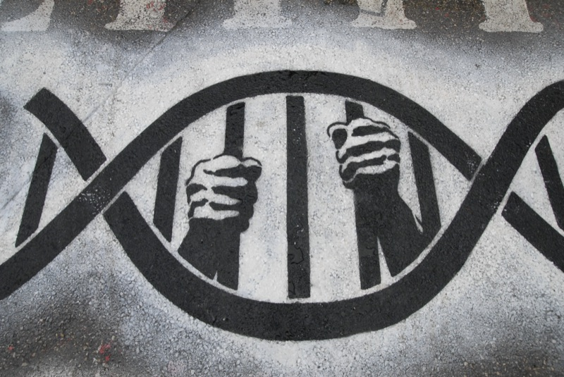 Securing DNA. Credit: home_of_chaos/Flickr, CC BY 2.0.