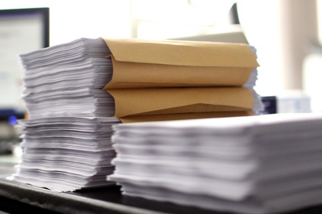 Reams of papers of bureaucracy. Credit: manoftaste-de/Flickr, CC BY 2.0.