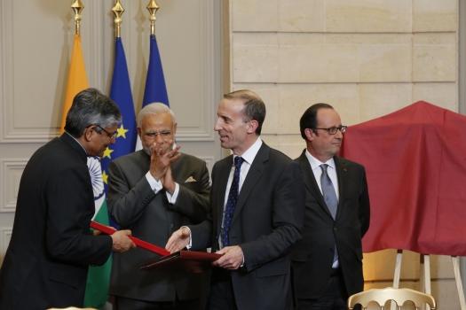 Inde échange PEA 10 avril 2015