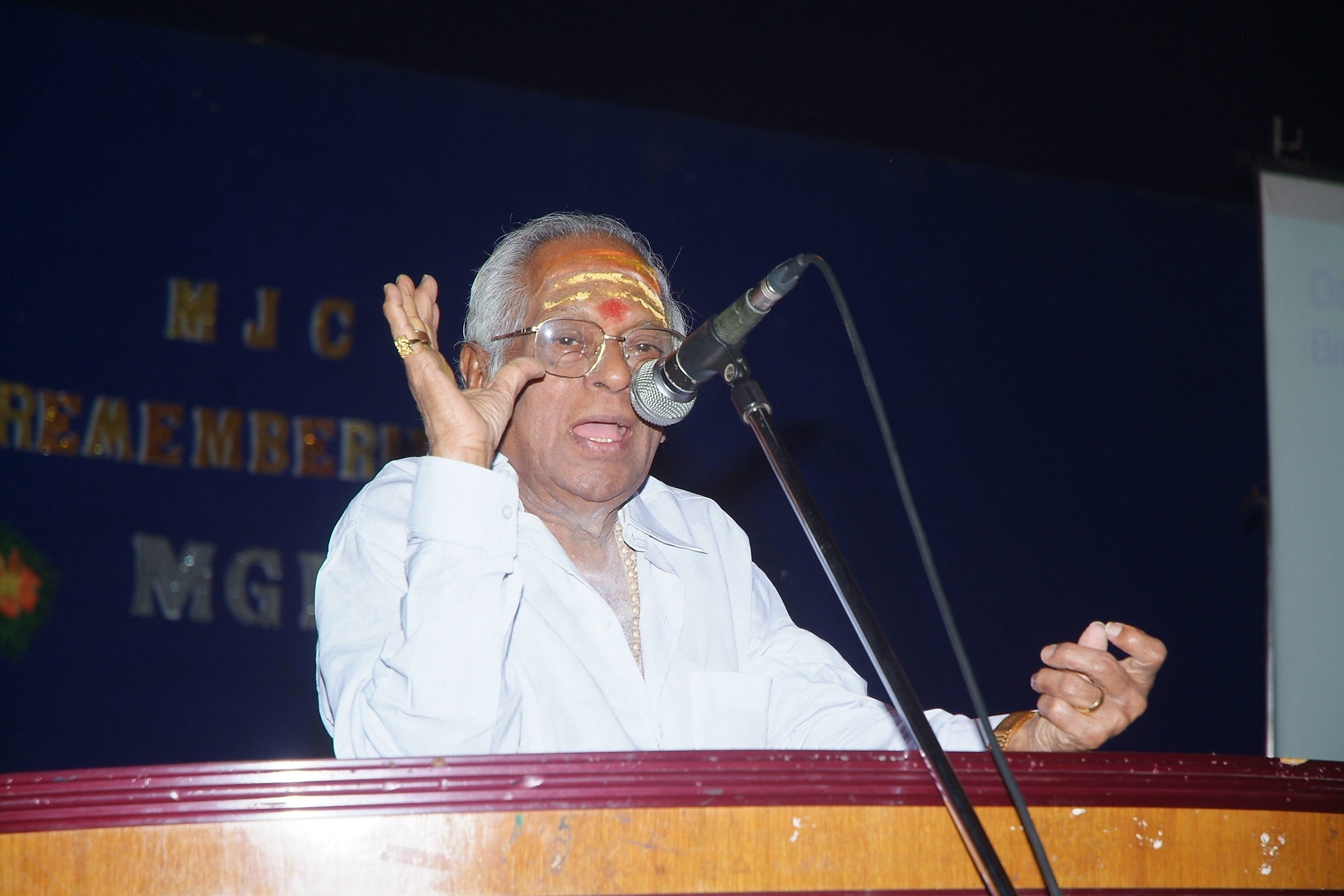 MSV, the Man Who Knew Nothing But Music