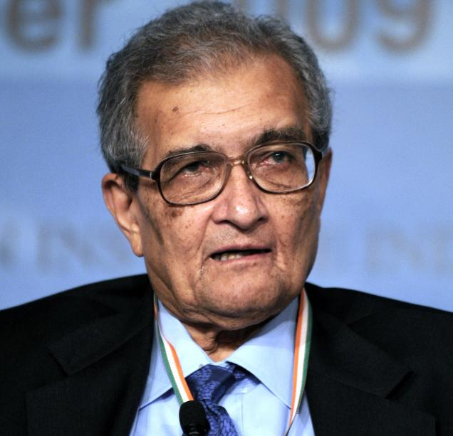 Amartya Sen. Source: Cambridge University