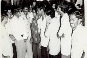 The young APJ Abdul Kalam at ISRO in the 1960s. Credit: PIB
