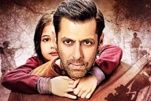 A poster of the film 'Bajrangi Bhaijaan'.