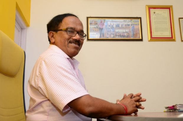 NOT QUITE HIS OWN MAN: Goa Chief Minister Laxmikant Parsekar. Credit: PTI