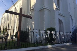 Outside Charleston Church, after the Dylann Roof shooting. Credit: UCCCOGS