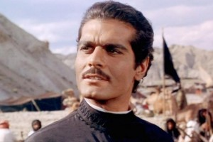 Omar Sharif in a scene from the movie 'Lawrence of Arabia'. Source: YouTube Screengrab