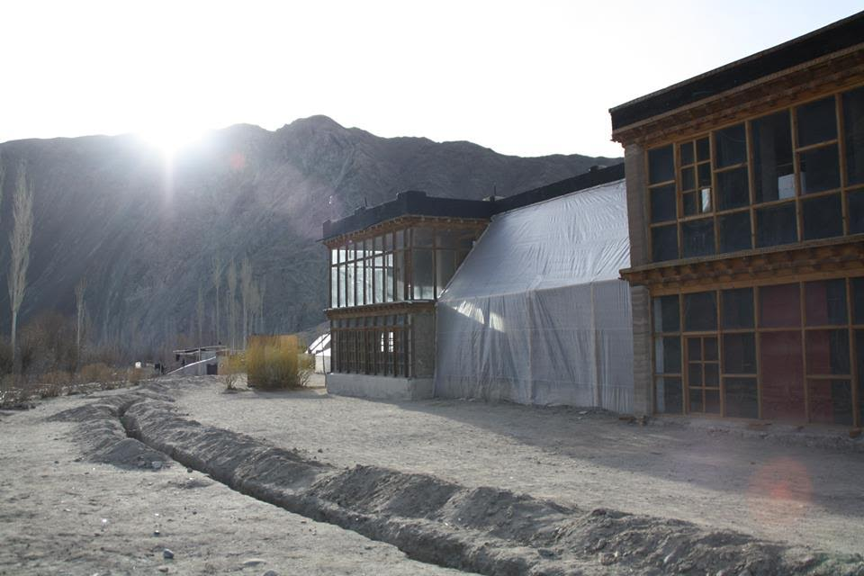 Take a Tour of This All-Green School in Ladakh