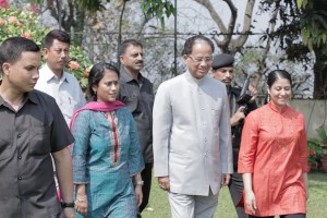 Chief Minister of Assam Tarun Gogoi (Photo: TeachAIDS)