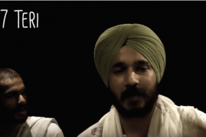 Screen grab of the music video on Article 377 by MAFAKA
