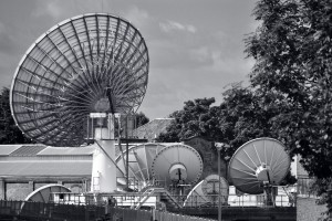 TV centre antennas. Credit: rogersg/Flickr, CC BY-SA 2.0