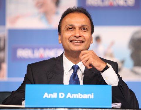 Favourable Ruling Boosts Anil Ambani Firms' Stocks, RCom Shares Climb 7.1%