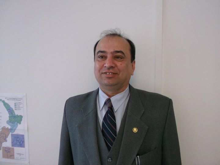 Himanshu Trivedi, former city judge in Ahmedabad in 2002-2003, and now a practising lawyer in New Zealand.