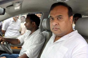 File photo of Assam Congress leader Himanta Kumar Sarma. Credit: PTI