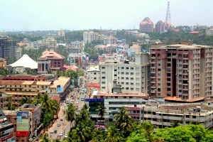 A view of Mangalore city (Source: Wikipedia commons)
