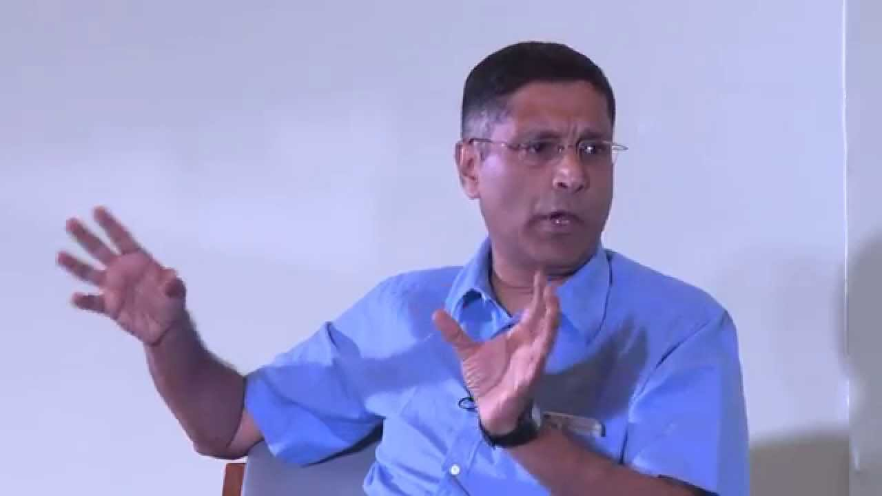 Arvind Subramanian. Source: YouTube screengrab