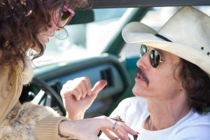 A pause, not a halt in legal attempts to claim money from people who illegally downloaded the movie Dallas Buyers Club, which starred Jared Leto (left) and Matthew McConaughey (right). Credit: Voltage Pictures