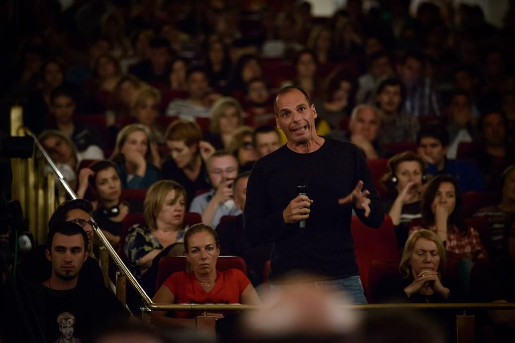 Yanis Varoufakis. Credit: Wikimedia Commons, Free Art License