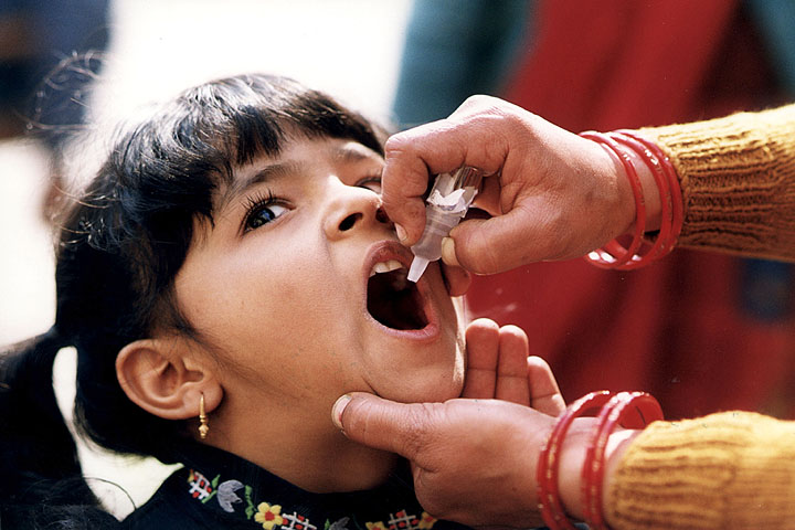 Contaminated Polio Vaccines Given To Kids In Maharashtra