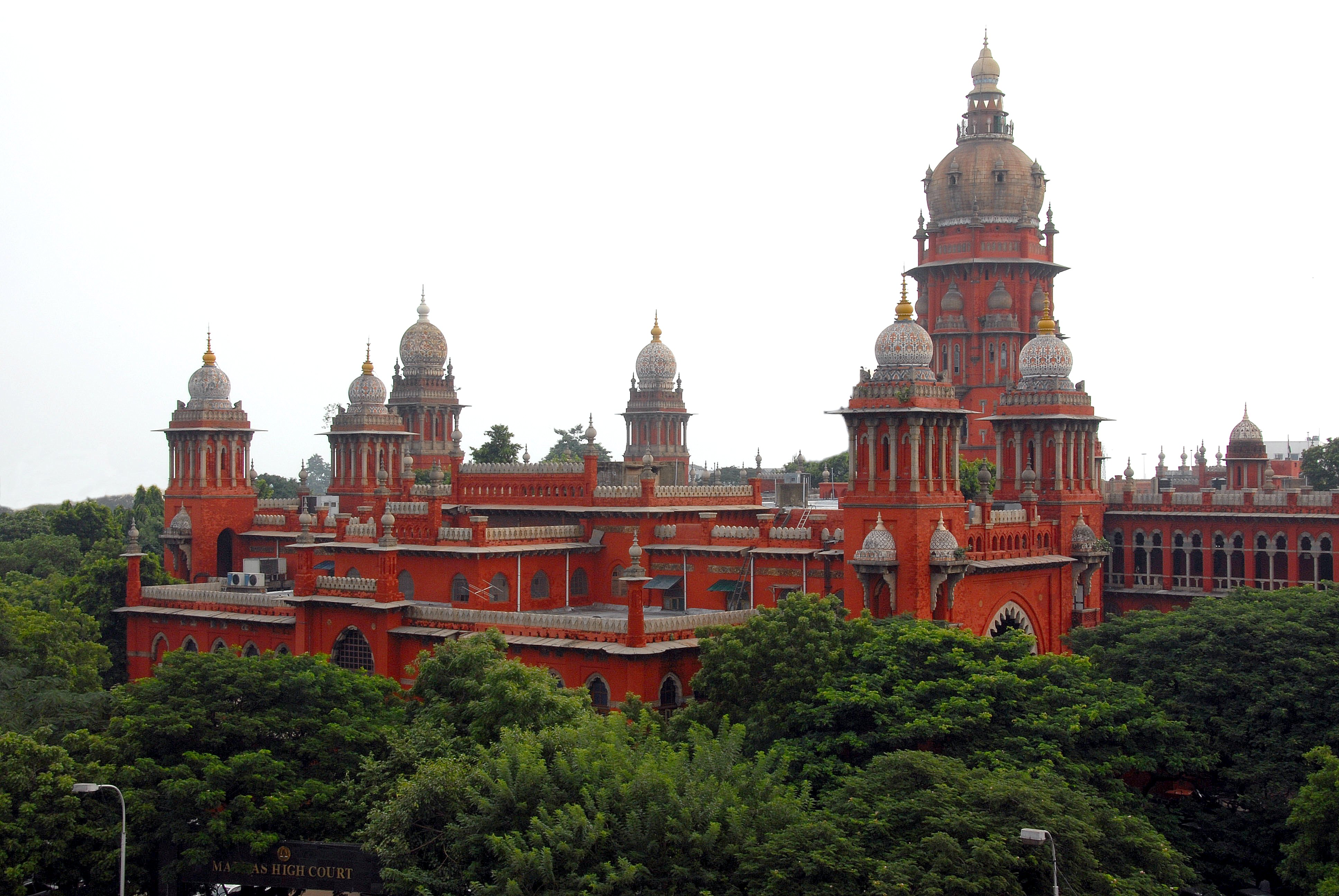 Madras High Court. Credit: Wikipedia Commons