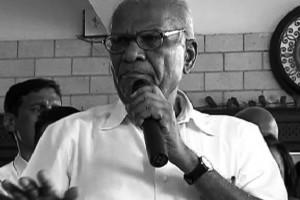 Govind Pansare, who was shot dead by a suspected Sanatan Sanstha member