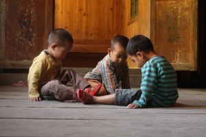 Chinese children. Credit: joanetvila/Flickr, CC BY 2.0
