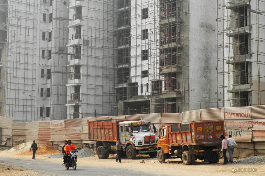 Construction in Delhi. Credit: Alex Drainville/Flickr CC BY-NC 2.0