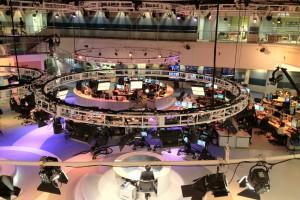 The newsroom of Al Jazeera English (