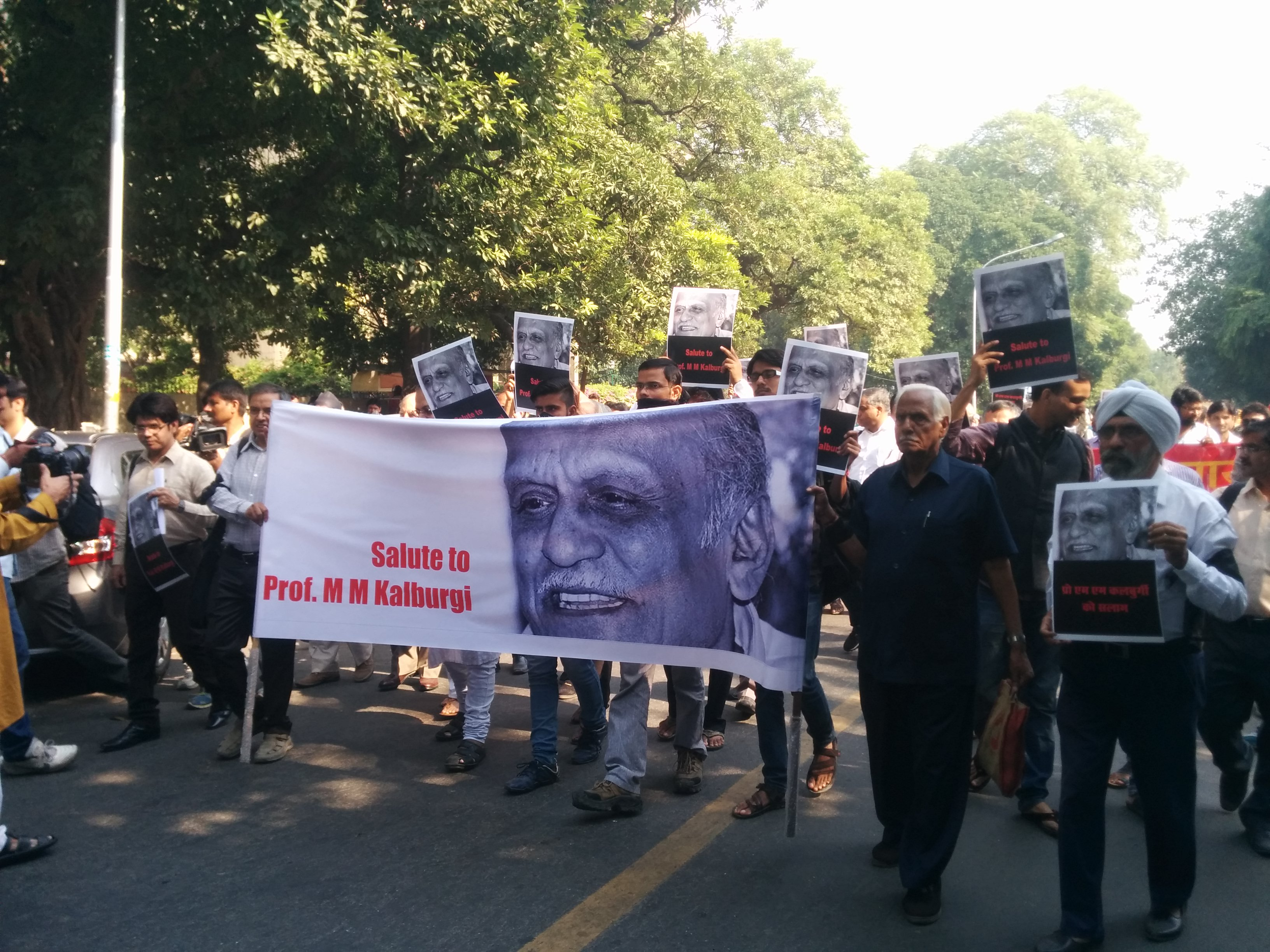 Kalburgi's Wife Identifies Suspect Who Shot Him