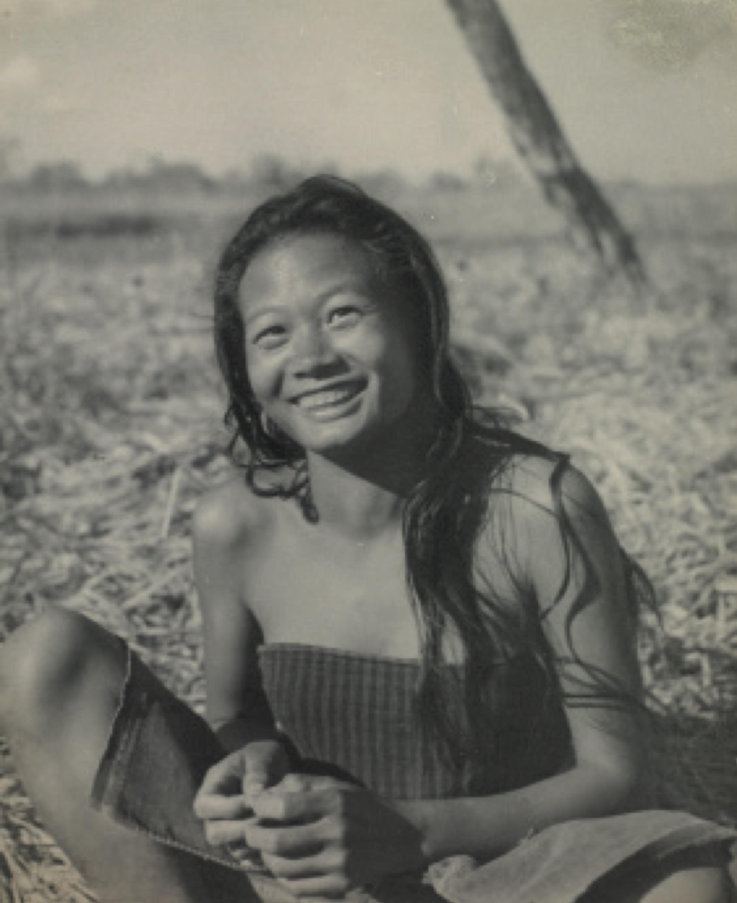 Mikir tribal girl, Assam. Credit: Sunil Janah. From the Swaraj Art Archive