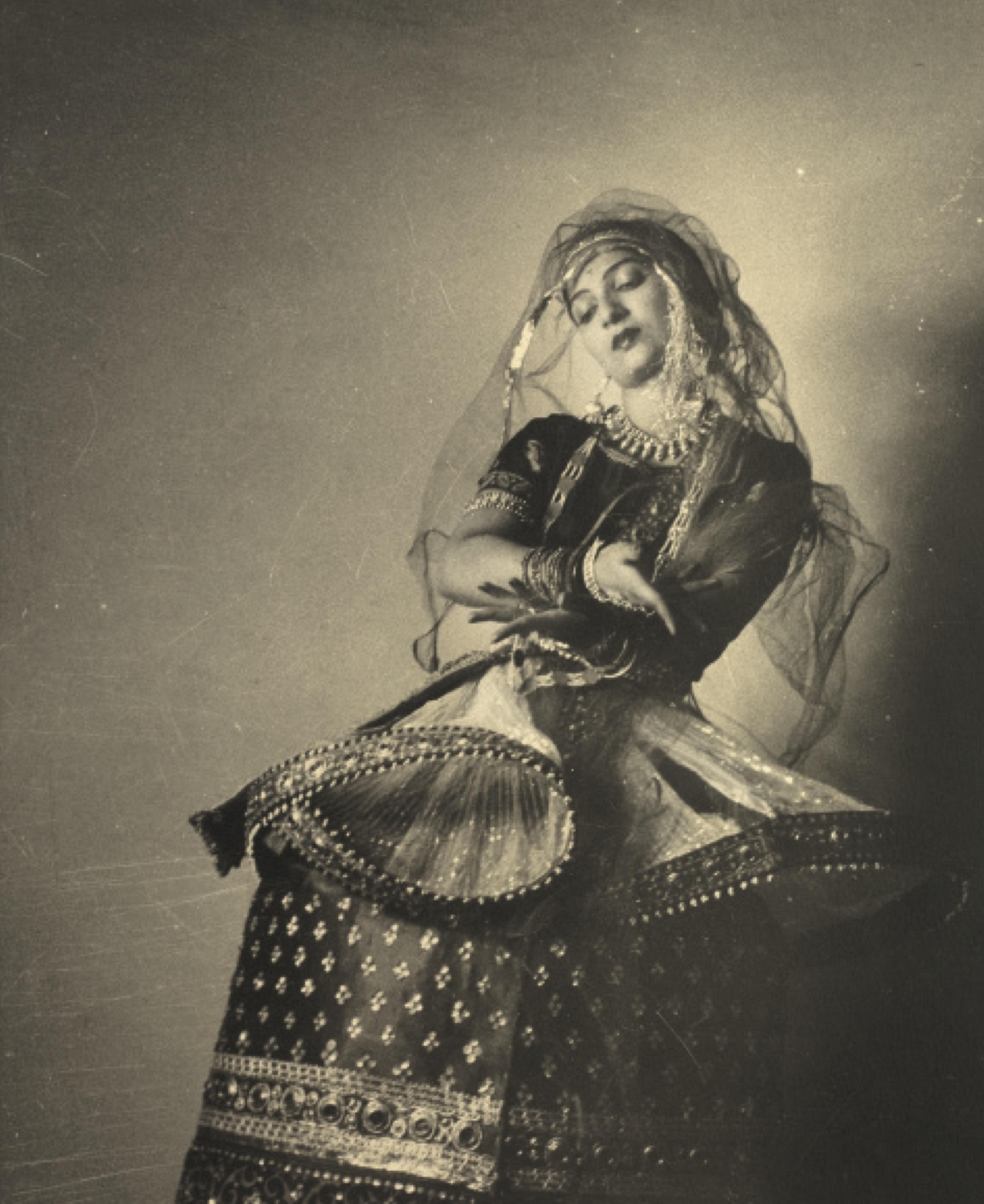 Ritha Devi, Manipuri dance. Credit: Sunil Janah. From the Swaraj Art Archive