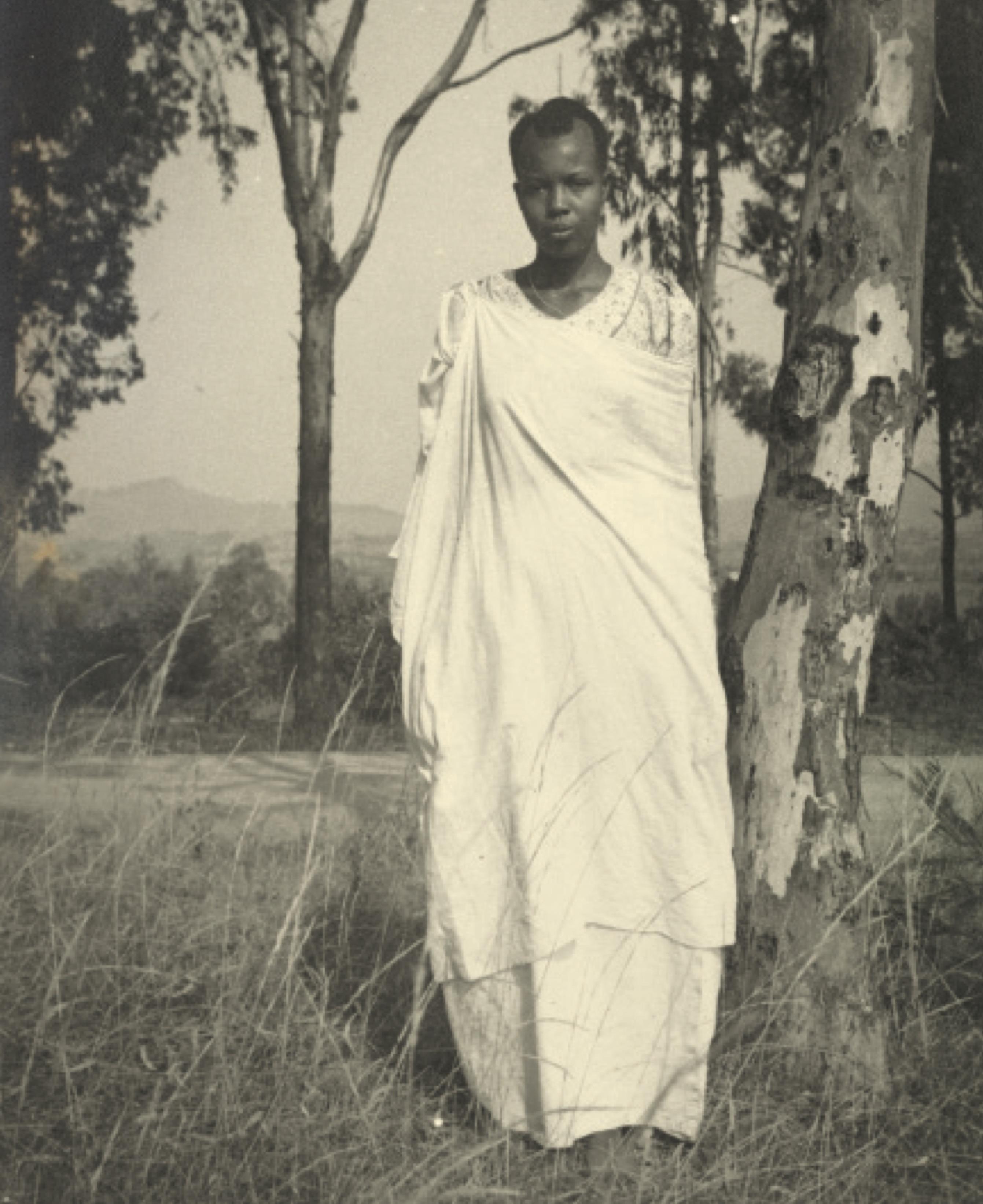 Siddhi woman, Gujarat. Credit: Sunil Janah. From the Swaraj Art Archive