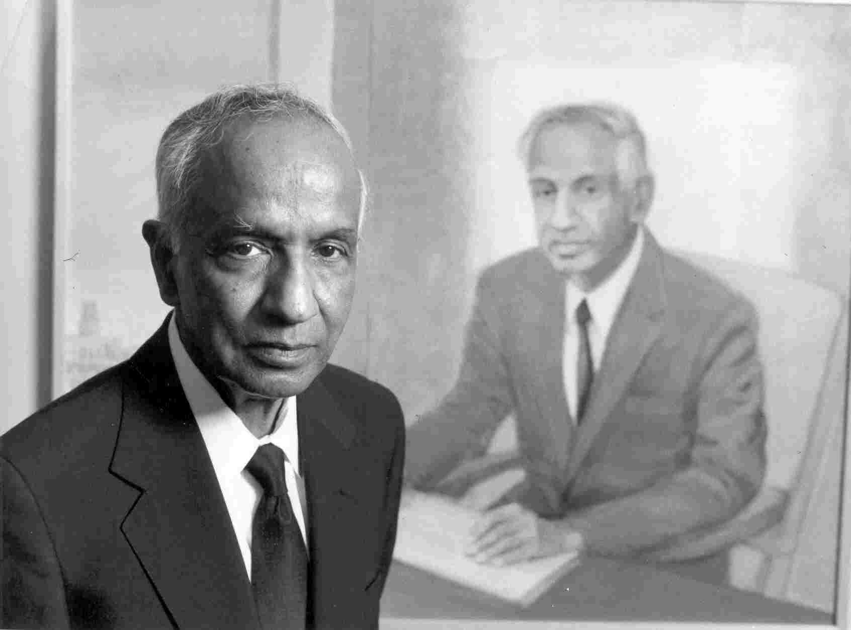 Subrahmanyan Chandrasekhar. Source: YouTube screengrab