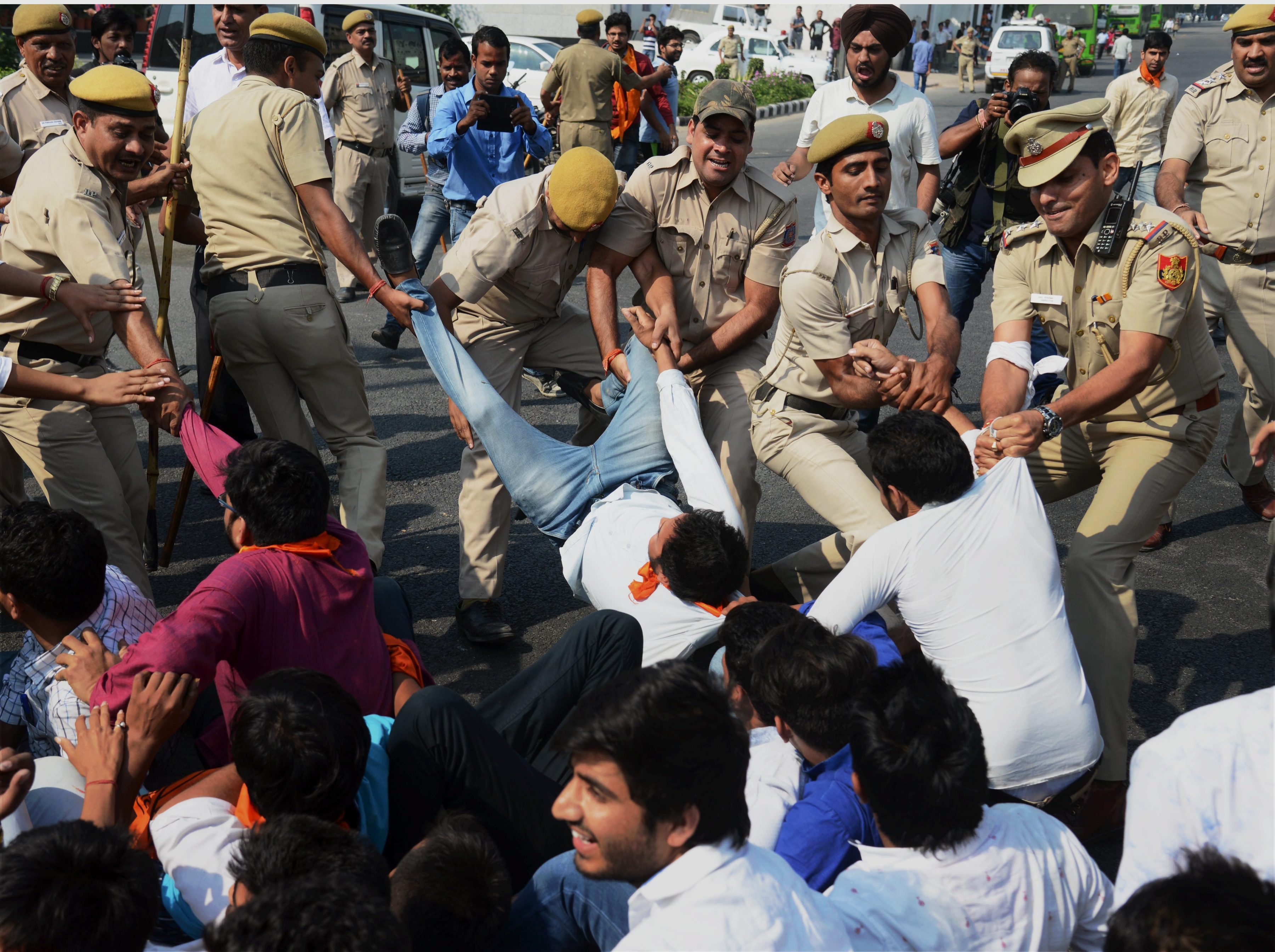 The #Occupy UGC Agitation is About Saving Indian Education