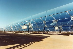 A solar power plant. ©UNEP